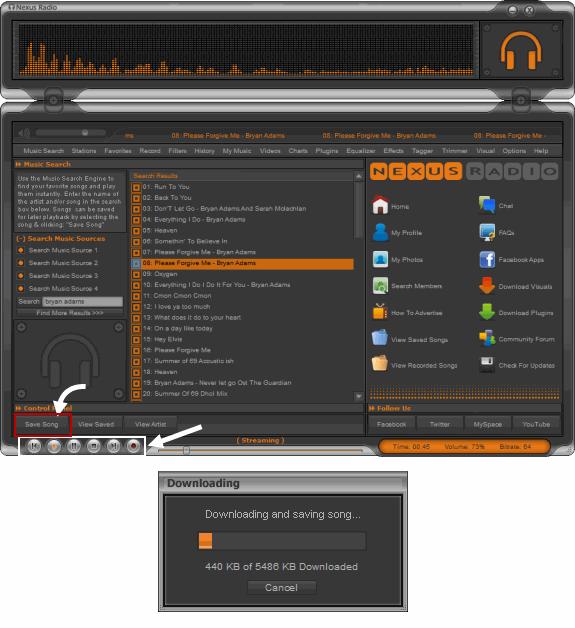 Nexus Radio: una herramienta de escritorio para la transmisión de radio en línea