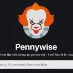 Cómo abrir sitios web en una ventana flotante con Pennywise