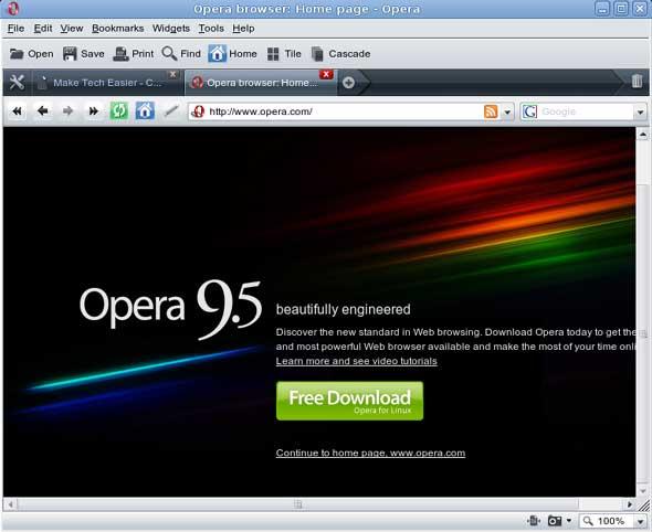 ¿Es Opera lo suficientemente bueno para su escritorio Ubuntu?