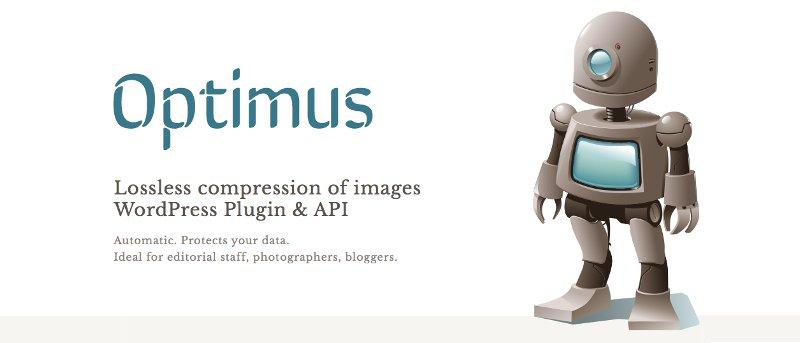 Utilice Optimus para WordPress para reducir el tamaño de las imágenes y mejorar la velocidad de carga