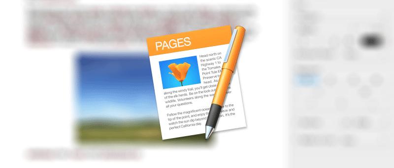 Cómo extraer una imagen de un documento de Pages en Mac