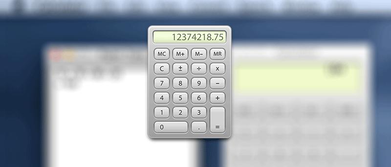 Cómo activar la cinta de papel en la aplicación de calculadora nativa para Mac