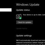 Cómo aplazar o pausar la actualización de Windows 10