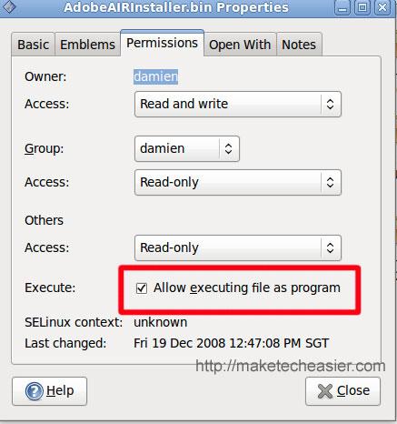 Instale Adobe Air para Linux en Ubuntu Intrepid