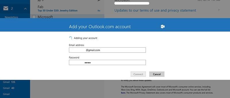 Cómo configurar la aplicación de correo de Windows 8 para utilizar el correo POP
