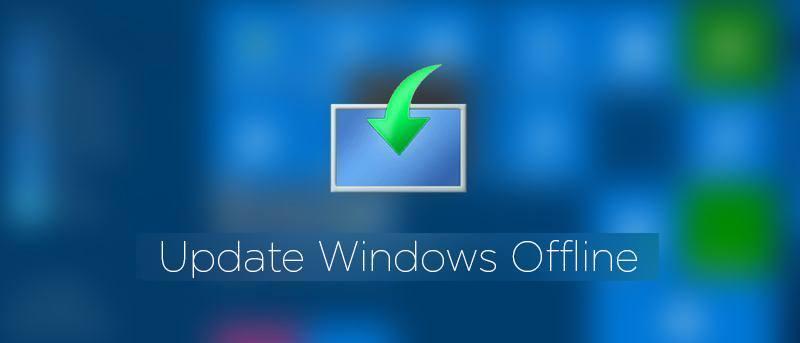 Cómo actualizar Windows 10 fuera de línea