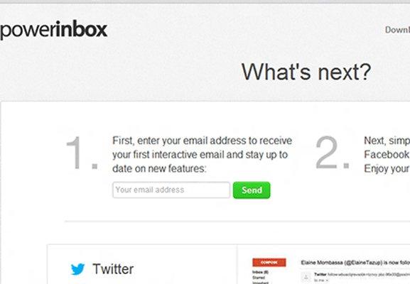 Responda a las notificaciones de Facebook y Twitter desde su correo electrónico con PowerInbox