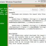 Cómo utilizar eficazmente el sistema de ayuda de PowerShell