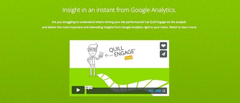 Cómo utilizar Quill Engage para simplificar los informes de Google Analytics