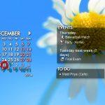 Rainlendar: Aplicación de calendario personalizable en su escritorio (sorteo)