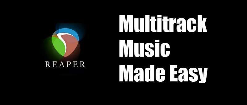 Producción musical a bajo precio con Reaper