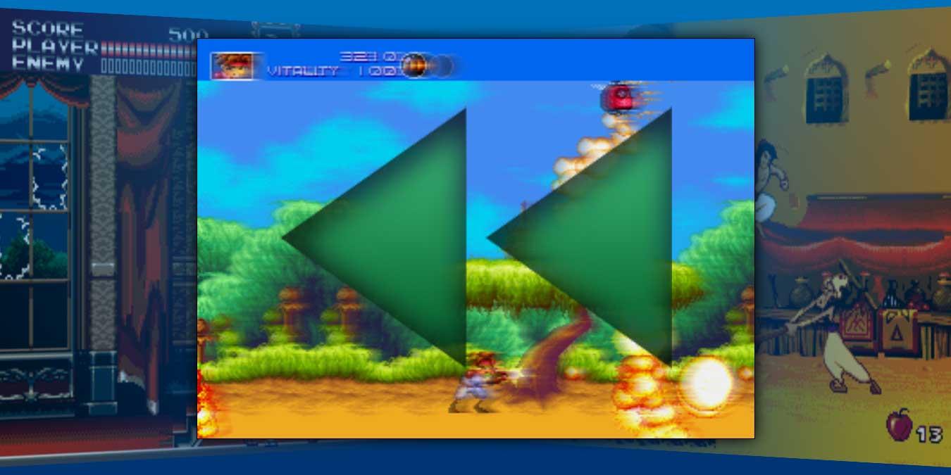 Cómo rebobinar sus juegos retro en los emuladores