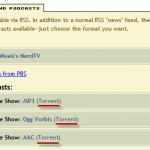 Cómo descargar torrents mediante canales RSS