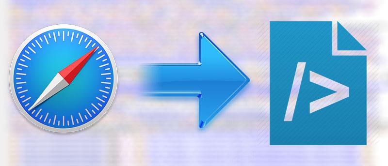 Cómo ver el código fuente de una página web en Safari en Mac
