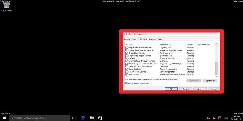 Modo Seguro de Windows vs. Arranque Limpio: ¿Cuál es la diferencia?