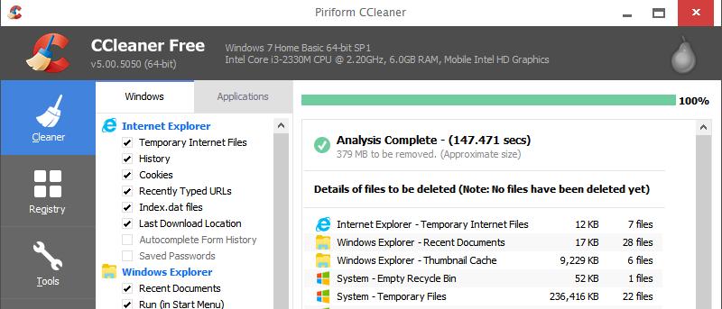 Cómo programar CCleaner para que se ejecute automáticamente utilizando el programador de tareas de Windows