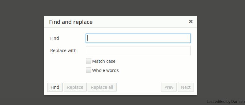 Cómo realizar la búsqueda y el reemplazo en WordPress