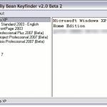 Encuentre las claves de producto de los programas de Microsoft y las claves de serie de Windows XP, Vista y Windows 7