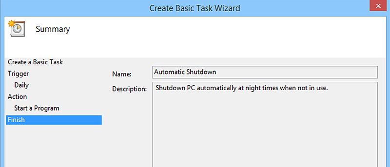 Cómo apagar automáticamente un PC con Windows por la noche