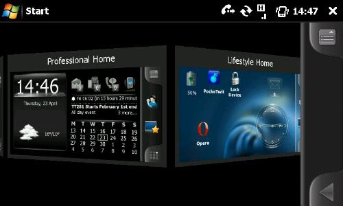Cómo configurar Spb Mobile Shell 3 para Windows Mobile