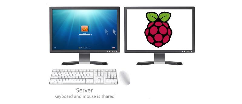 Comparta su ratón y teclado entre Windows y una Raspberry Pi usando Synergy