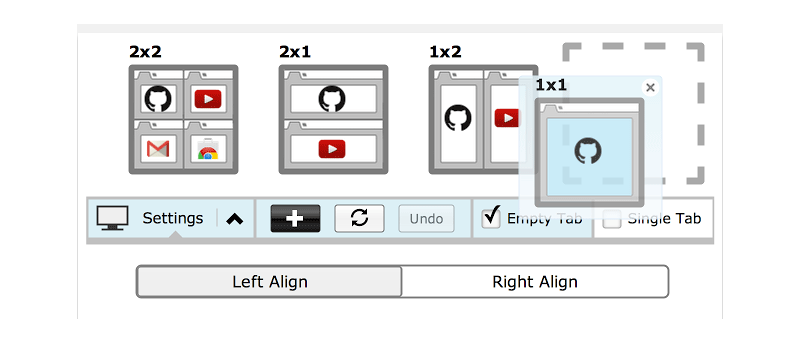 Cómo dividir las pantallas en Chrome con el nuevo tamaño de la pestaña