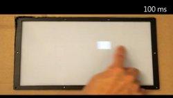 Microsoft desarrolla una pantalla táctil de un milisegundo de respuesta y la demuestra