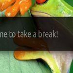 Oblíguese a tomar descansos periódicos en Ubuntu utilizando Take a Break