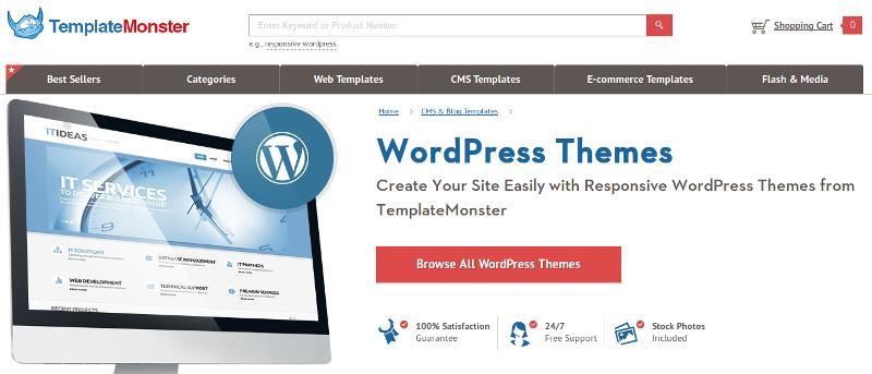 Sorteo: Se pueden ganar 10 temas premium de WordPress de TemplateMonster