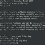 Cómo recuperar datos y particiones de forma gratuita con TestDisk