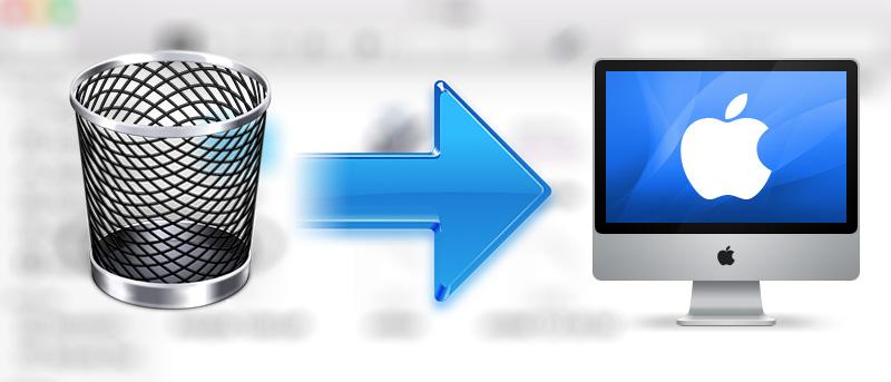 Cómo añadir un icono de la papelera al escritorio de su Mac