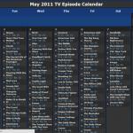 Cómo crear un calendario de televisión personalizado