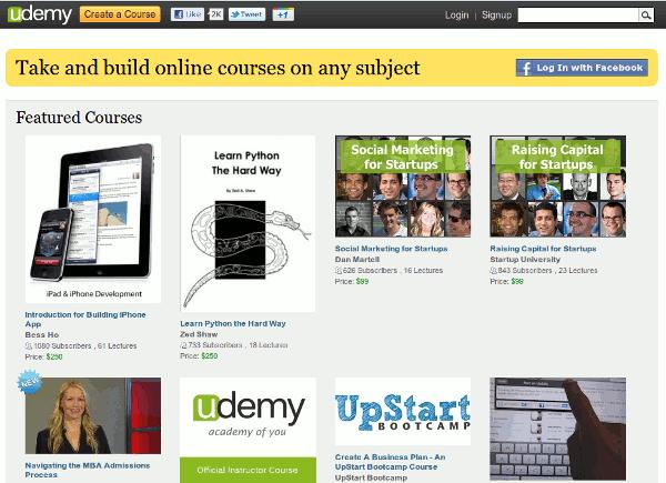 Encuentra y crea cursos en línea fácilmente con Udemy