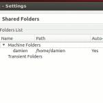 Acceder a la carpeta compartida en VirtualBox con Ubuntu Guest