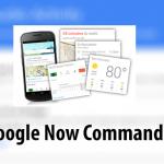 Cómo borrar todos los comandos de Google Now que haya dicho