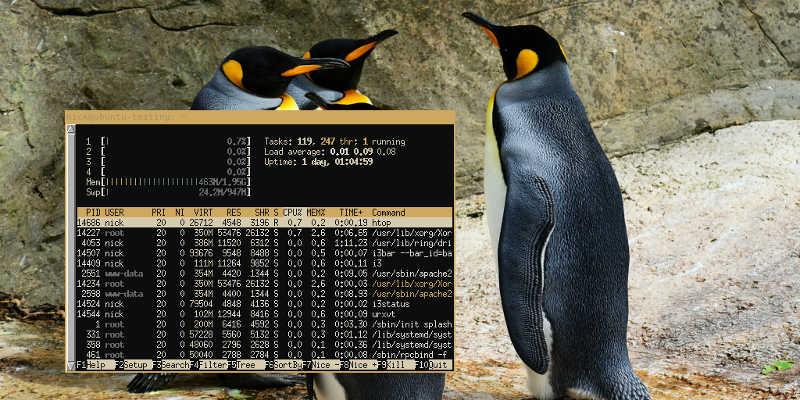 Cómo crear esquemas de color para combinar con el fondo de pantalla en Linux