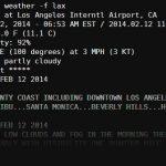 Obtenga las previsiones meteorológicas en la Raspberry Pi