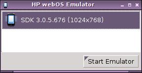 Cómo ejecutar el emulador de WebOS en Linux