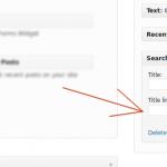 Cómo añadir enlaces a los títulos de sus widgets de WordPress