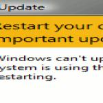 Cómo evitar que Windows se reinicie después de una actualización automática