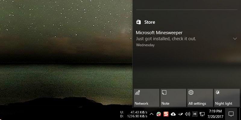 Cómo solucionar que el Centro de Acción no se abra en Windows 10