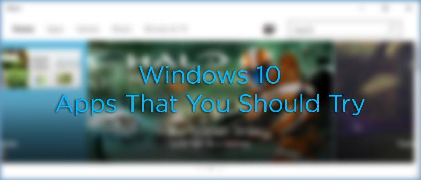 6 aplicaciones modernas para Windows 10 que debería probar