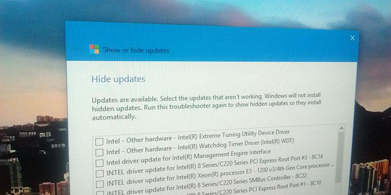 Cómo evitar temporalmente la instalación de controladores no deseados en Windows 10