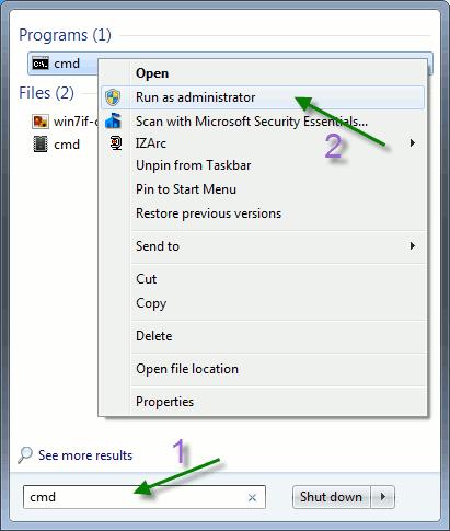 Cómo solucionar problemas de red utilizando herramientas de línea de comandos en Windows 7