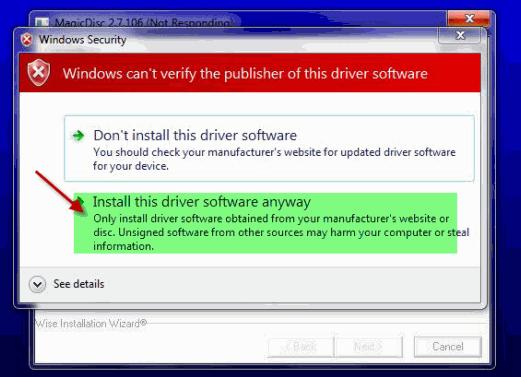 MagicDisc crea / monta / desmonta sus imágenes de disco en Windows