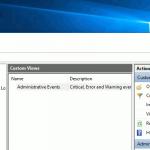 Qué son las vistas personalizadas en el Visor de Eventos de Windows y cómo crear una