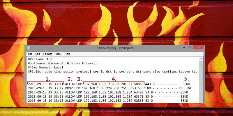 Cómo rastrear la actividad en Internet de forma gratuita utilizando el registro del cortafuegos de Windows