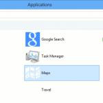Lanzar aplicaciones directamente desde el escritorio en Windows 8