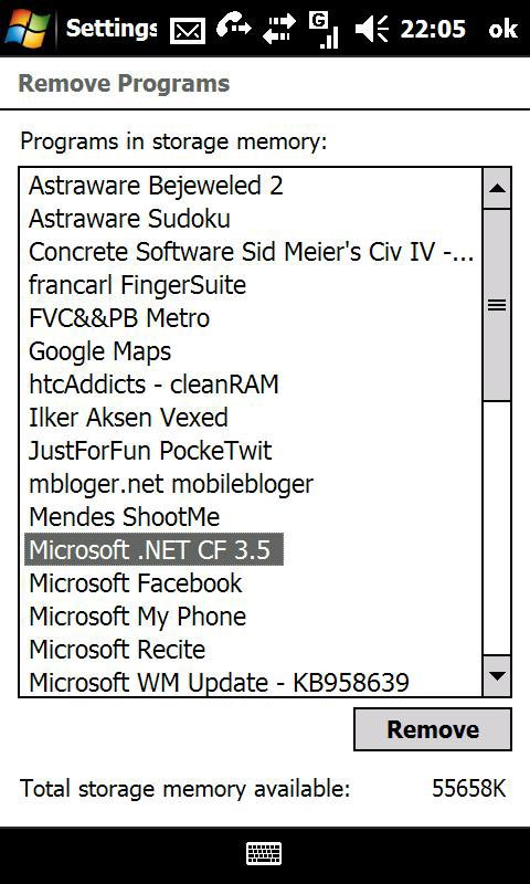 Cosas que debe comprobar antes de instalar un software en el Windows Mobile