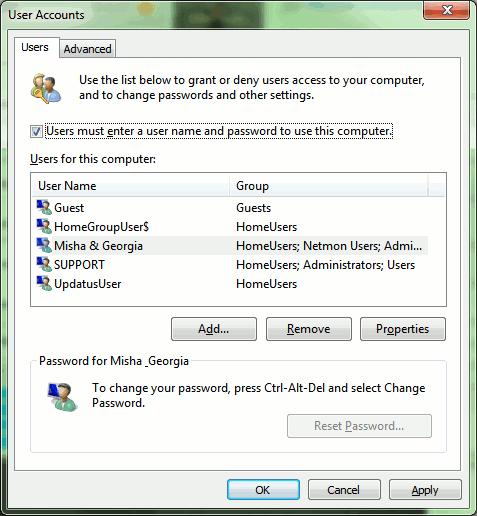 Cómo omitir la pantalla de bienvenida de Windows 7 e iniciar sesión automáticamente al inicio
